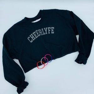 Cheerlyfe sweatshirt & bracelets